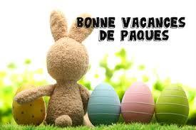 Vacances de printemps : du samedi 6 avril 2019 au mardi 23 avril 2019