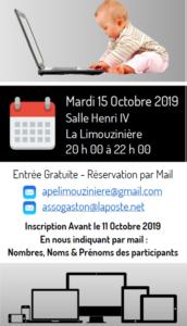conférence 15/10/2019