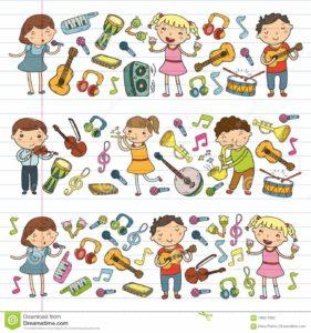 Séance Musique - Classes CE1 - CE2 - CM1 - CM2